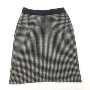MIss Pendleton Medium Houndstooth Wool skirt